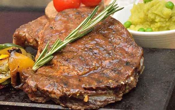 ستيك لحم مشوي بالصور