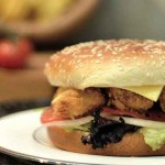 Chicken burger picture