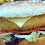 Veggie burger picture