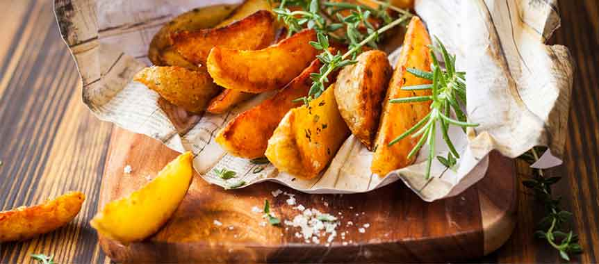 Potato wedges picture