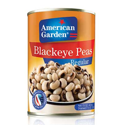 Picture of black eyed beans