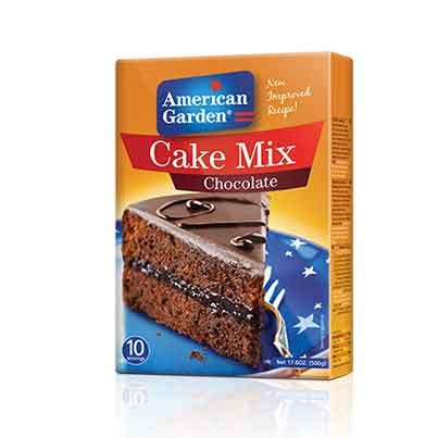 Picture of American Garden Cake Mix Chocolate