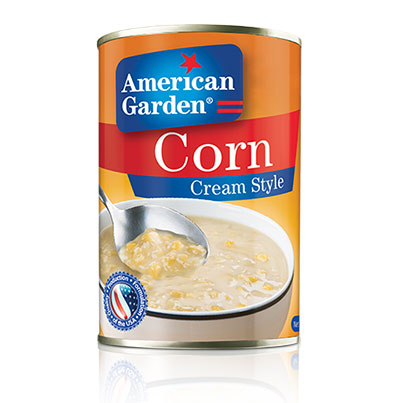 Picture of cream style corn