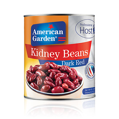 Picture of Kidney Beans Dark Red professional host