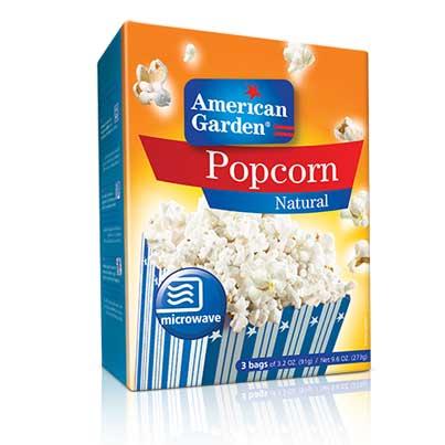 Picture of American Garden Microwave Popcorn Regular