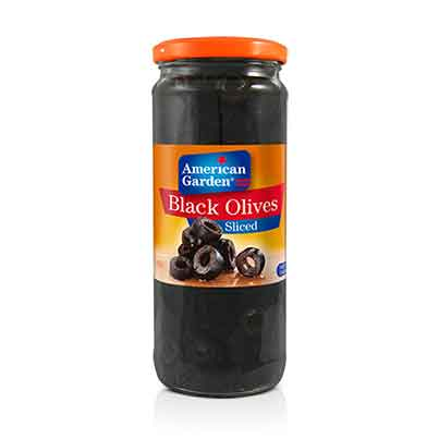 Picture of American Garden Olives Black Sliced
