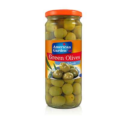 Picture of American Garden Olives Green Whole