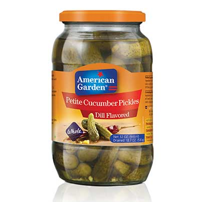 Picture of American Garden Petite Dill Pickles