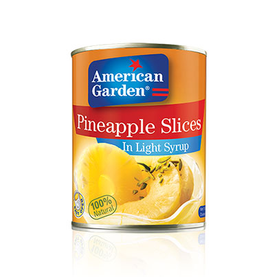 Picture of canned pineapple slices