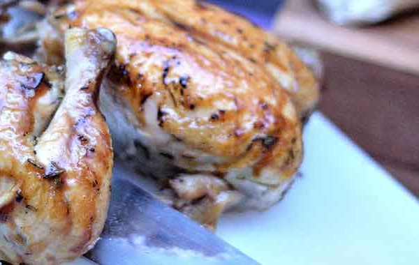 Roasted chicken recipe picture