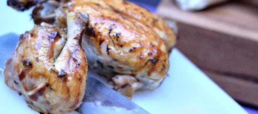 دجاج مشوي بالصور