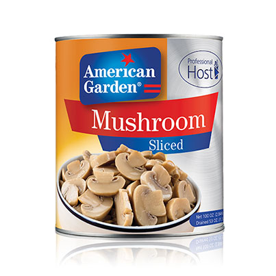 Picture of Mushroom sliced professional host