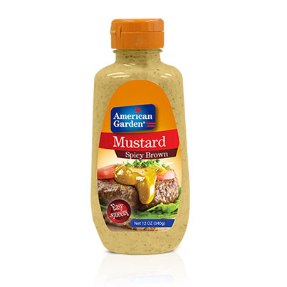 Picture of spicy brown Mustard from American Garden