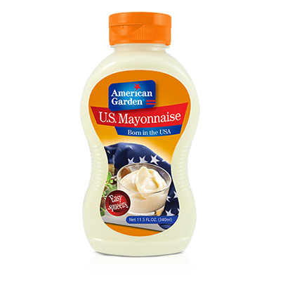 US Mayonnaise Squeeze | American Garden