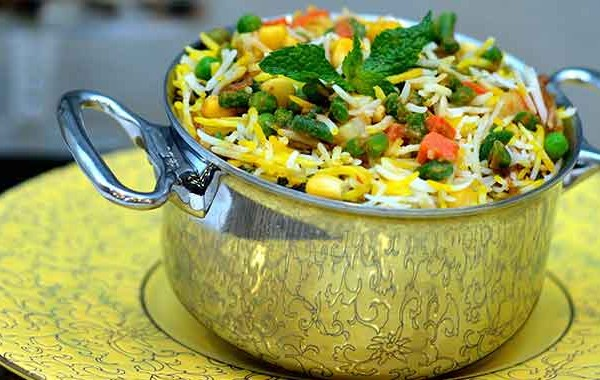 Vegetable fried rice picture