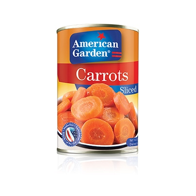 Carrots Sliced | American Garden