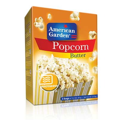 Picture of American Garden Microwave Popcorn Butter