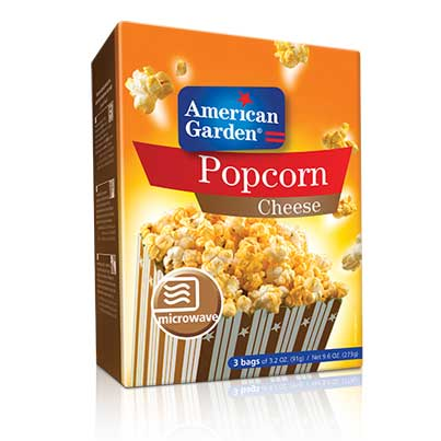 Picture of American Garden Microwave Popcorn Cheese