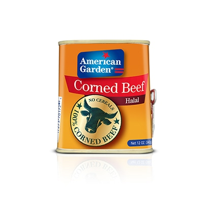 Picture of canned corned beef