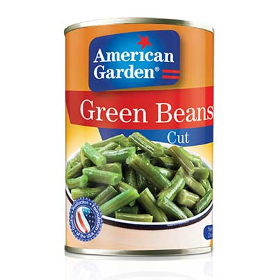 Picture of cut green beans