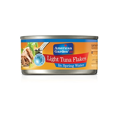 Picture of light Meat Tuna flakes in water