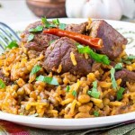 Meat Kabsa Picture | kabsa rice recipe