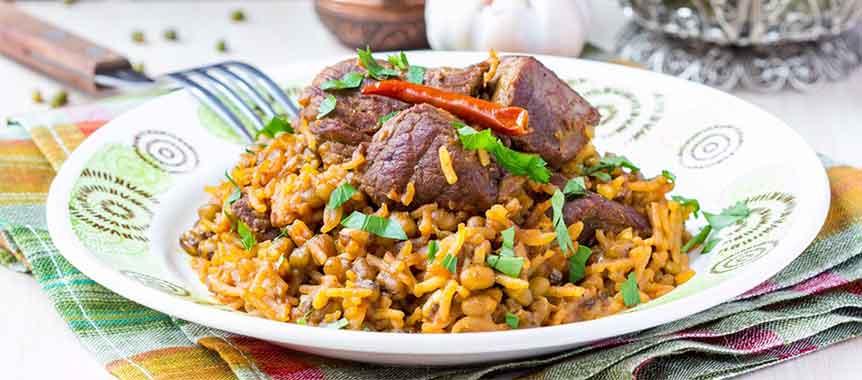 Meat Kabsa Recipe Saudi Arabian Kabsa Rice Recipe American Garden