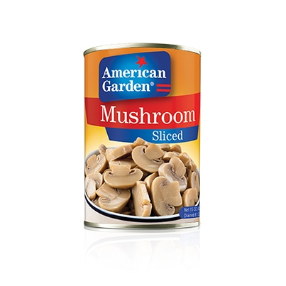 Picture canned sliced mushrooms