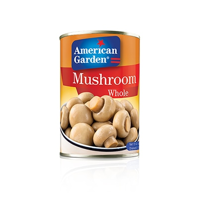 Picture of whole canned whole mushroom