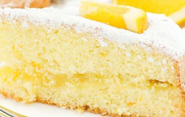 Orange cheesecake picture
