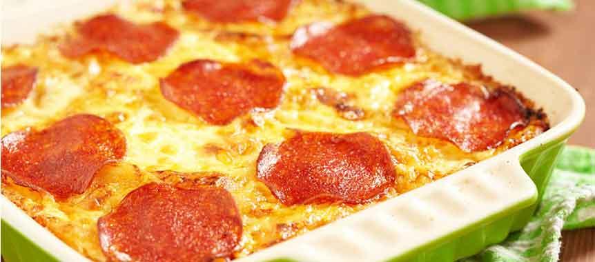 Pizza Pasta Bake Picture