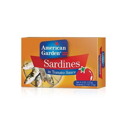Picture of sardines in tomato sauce