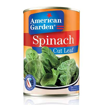Picture of spinach leaves