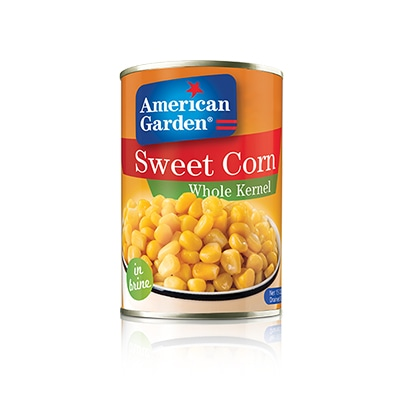 Picture of whole kernel corn