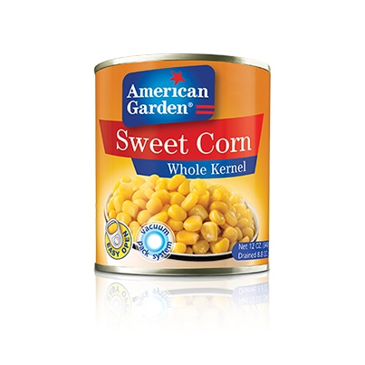 Picture of whole kernel sweet corn