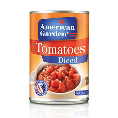 Picture of American Garden Diced Tomatoes