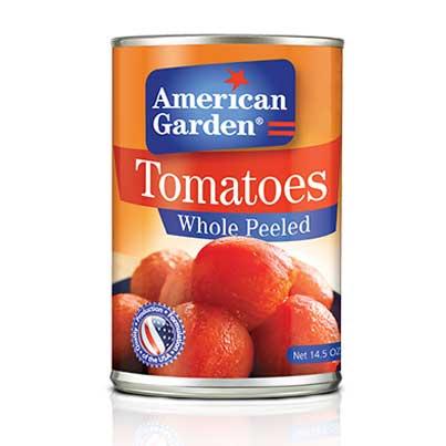 طماطم مقشرة بالكامل من أميريكان جاردن بالصور