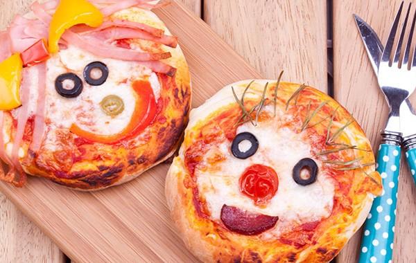 Picture of mini pizza