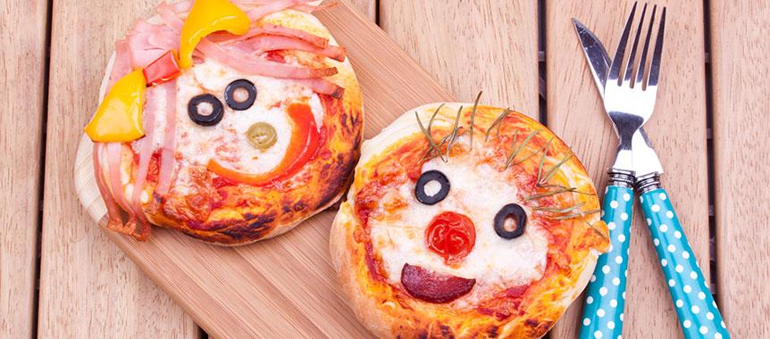ميني بيتزا بالصور