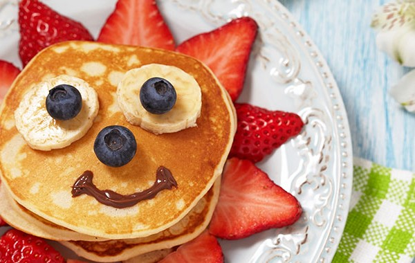 Picture of easy pancake recipe