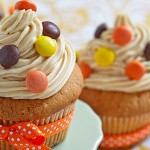 Picture of peanut butter cupcakes