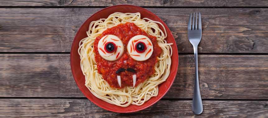 Spaghetti picture