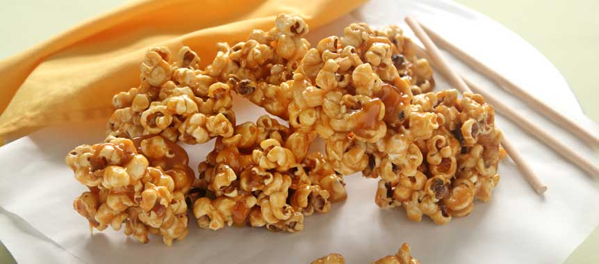 Caramel popcorn picture