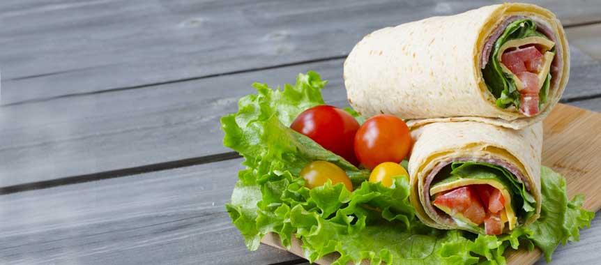 Sandwich wrap picture