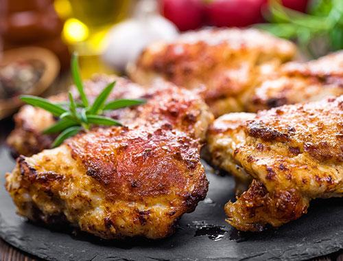 افخاذ الدجاج