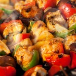 BBQ Chicken Kebab