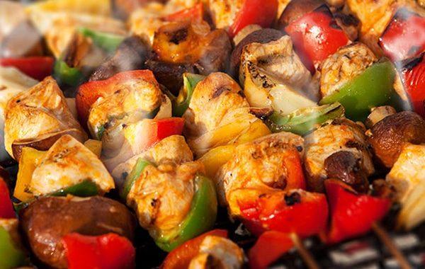 BBQ Chicken Kebab