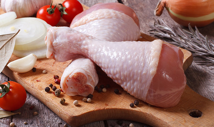 تجميد الدجاج