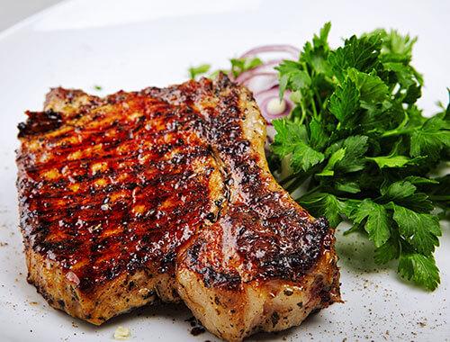 Grilled Veal steak | American Garden