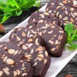 ليزي كيك بالشوكولاتة وزبدة الفول السوداني